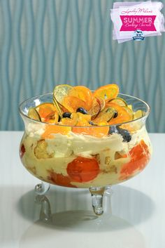 Orange and Lime Marmalade Trifle Jelly Crystals, Chantilly Cream, Baking Secrets, Feb 14, Egg Yolks, Marmalade, Trifle, Custard, Cooking Time