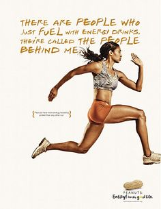 although this is a peanut ad, it's motivates me towards greater physical fitness
