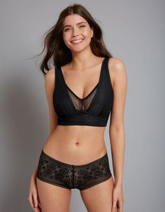 0495fd5c1ed Zara Bralette in Black by Bravissimo