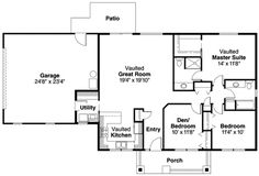 Image result for 150 square meters bungalow floor plan for 57 square meters to feet