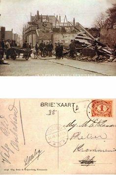 #Krommenie in 1910, ravage