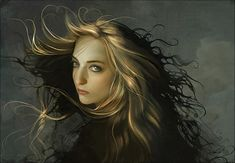 Thumbnail displaying a portion of the artwork of Linda Bergkvist. See more artwork by this featured artist on the fantasy gallery website.