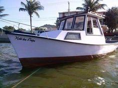 Barco de fibra navatec 21 pés top