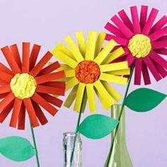 Il tutorial per realizzare dei fiori con i rotoli di carta e regalarli ...
