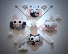 Hey, I found this really awesome Etsy listing at https://www.etsy.com/listing/195957137/owl-baby-mobile