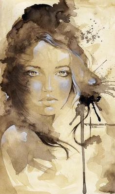 Loose style portraits with a splendid color choice. Want to inspire me from this site. Beautiful Watercolor Paintings by Mekhz Art And Illustration, Illustrations, Watercolor Portraits, Watercolor Paintings, Art Paintings, Watercolors, L'art Du Portrait, Bleach Art, Inspiration Tattoos