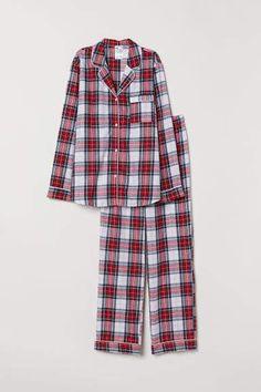 3b1d1b531c5a H&M Flannel Pajamas - Red Pyjamas Kvinnor, Lounge Wear