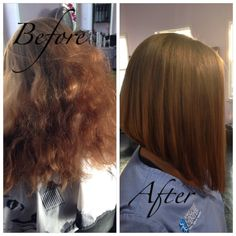Exclusive, transformations, haircut, hair, Bob, lob, long bob, style, straight hair, curly hair, control, antifrizz, frizz, smooth, Titusville, Florida  On Facebook at : Hair by Karissa at etc hair studio