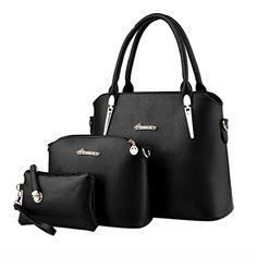 ADOO-Womens-Elegant-Leather-Handbags-Shoulder-Bags-Tote-Bags-Hobo-Set