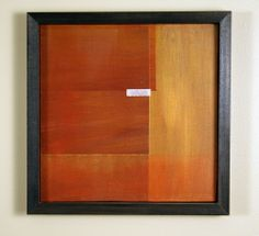 """Original Acrylic Painting by Christopher Weigand - """"Earth Abstract #6"""" - 2009 #Abstract"""