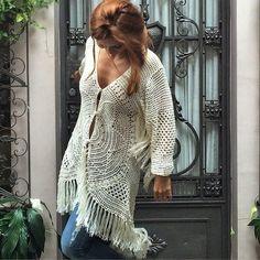 Crochê Branco. / White Crochet.