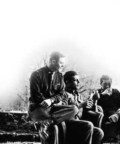 Richard Winters, Lewis Nixon and Harry Welsh