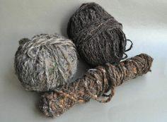 Schapenwol bruin Pakket 3080 gram (samen met de andere foto's) € 60,00 SOLD