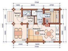 Duplex Floor Plans, House Floor Plans, Sauna House, Sauna Design, Sweet Home, Woodworking, Cottage, Backyard, Flooring