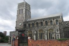 ipswich england medieval | ... Ipswich, Suffolk A Medieval dockside church Foundation Street, Ipswich