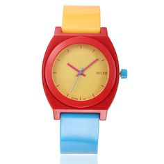 Round Face Classic Watch