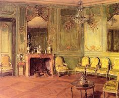 Walter Gay - The Green Drawing Room of Mrs. Oliver Gould Jennings