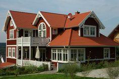 Schwedenhaus Galerie Schwedenhäuser Fotos schwedische Holzhäuser Häuser Fertighäuser