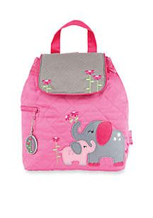 Send your little one off to preschool with an adorable Stephen Joseph Quilted Backpack. Kids love these unique, fun and colorful packs, and Moms love them because they're easy to care for and can also double as a diaper or change bag. Each style of Quilted Backpack comes with a beautifully embroidered design and a fun, coordinating zipper pull - making them as individual as your child is.
