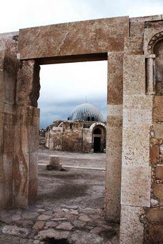 Amman Citadel in Amman, the Capital of Jordan