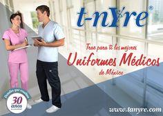 ¿Ya conoces nuestra extensa variedad de uniformes médicos con la más alta calidad en México? Revisa nuestro catálogo 2014 Visita: http://www.tanyre.com/