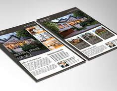 """Check out new work on my @Behance portfolio: """"Real Estate Flyer"""" http://be.net/gallery/40608459/Real-Estate-Flyer"""