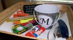 homework caddy Homework Caddy, Homework Organization, Good Things, Mugs, Tableware, Dinnerware, Tumblers, Tablewares, Mug