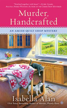 Cozy Wednesday with Isabella Alan - Author of Murder, Handcrafted - #Review / #Giveaway