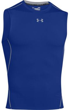 21c3e1f7 Under Armour HeatGear Sleeveless Compression Shirt - UA Tight-Fit Athletic  Top
