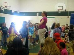 Kindergarten Musical Informance- great way to demonstrate tempo and different ways to step to the beat