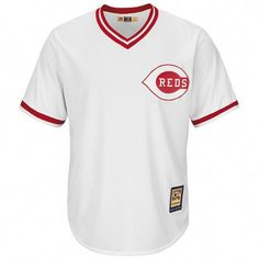 Compare prices on Barry Larkin Reds Cooperstown Jerseys and other Cincinnati  Reds memorabilia. Save money on Reds Barry Larkin Cooperstown Jerseys by ... 8e4e210a00e