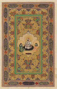 Ali, Hasan, and Husayn - Qajar period (19th century)