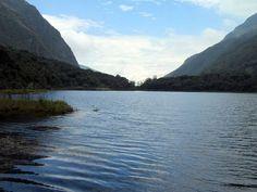 Hermosa laguna Llaviuco en el Parque Nacional Cajas. Beautiful Llaviuco lagoon in Cajas National Park.(Cuenca, Ecuador) Image by placeOK