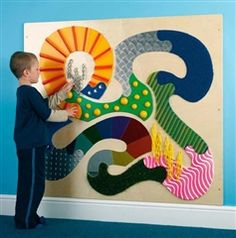 Sensory Stimulation wall