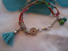 SALE GYPSY SUNSHINE Bracelet Gypsy JewelryEthnic by Nezihe1, $10.00