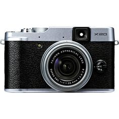 Fujifilm X20 Digital Camera (Silver) - SO want one of these - hope the price goes down sometime soon!