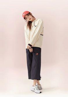 Brand Magazine, Love U Forever, Blue Aesthetic, Korean Beauty, New Balance, Normcore, Cool Girl, Singer, Actresses