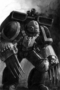 Raven Guard assault marine