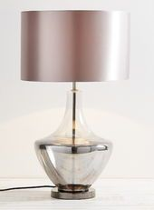 Smoke Cara Table Lamp
