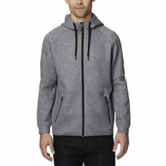 61b9f7912408 32 Degrees Men s Hoodie Sweatshirt Full Zip Tech Fleece Track Jacket at  Amazon Men s Clothing store