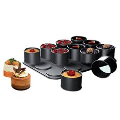 Create eye-catching desserts, savory appetizers and mini gourmet side dishes. Fun and easy to use, these multi-functional ring molds can be used for baking, chilling or freezing individual servings in perfectly uniform rounded shapes. Your guests will be delighted and impressed by your culinary apptitude!  Creations Ring Mold  $35.95 $52.99