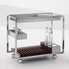 The Mojito Trolley brings style and function to the modern dining room. Modern Bar, Modern Desk, Modern Industrial, Mojito, Addison House, Home Furniture, Furniture Design, Outdoor Furniture, Outdoor Bar Table