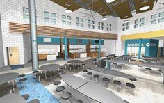 school cafeteria design - Google Search