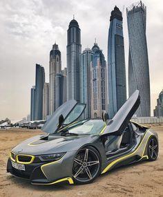 BMW I8 in Dubai #supercars
