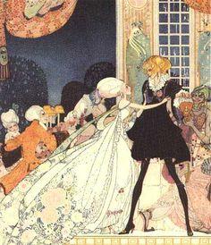 Twelve Dancing Princesses by Kay Nielsen