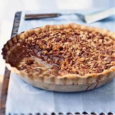 """Oatmeal Pecan Pie. I guess you could say this is a """"healthier"""" alternative to the norm, but the flavor is Ah-mazing! Gets rave reviews....."""