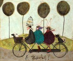 A Bikeful | Sam Toft