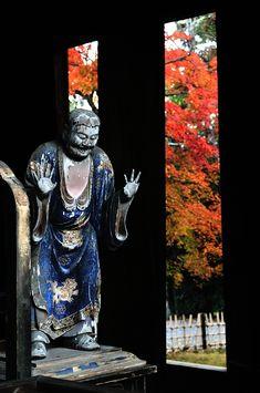 長々と引っ張ってまいりました京都の紅葉ですが、本日をもちまして終了となります。 化野念仏寺、祇王寺、二尊院、常寂光寺、嵯峨野竹林→清涼寺。 (門前より...