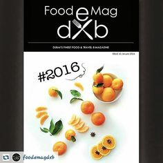 #REnsta #Repost : @foodemagdxb via @renstapp   #2016... Live inspired. And inspire everyone around you.. Season's Greetings to all of you from Team FEM!  Our New Year Edition is on the virtual shelf right now... hope it inspires you as you read it as much as it has inspired us while creating it.  Cover image: @coffeecakesandrunning  #food #travel #emagazine #dubai #mydubai #foodemagdxb #foodinspiration #travelinspiration
