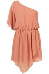 pretty coral dress from TopShop